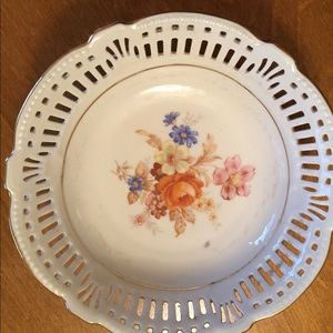 Vintage trinket plate